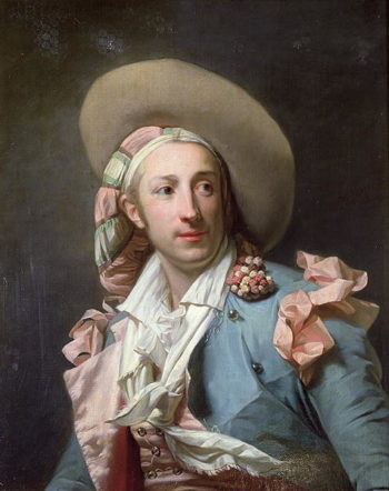 The Actor Thenard in the Role of Figaro | Henri Pierre Danloux | oil painting