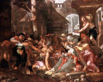 The Adoration of the Shepherds | Joachim Anthonisz Uytewael | oil painting