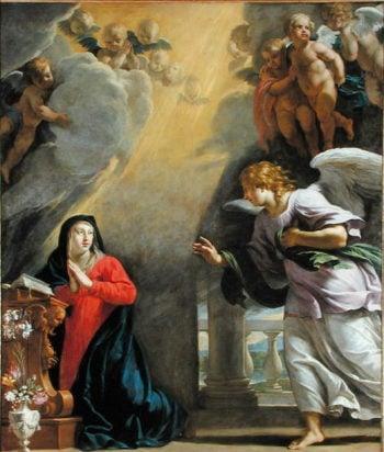 The Annunciation | Philippe de Champaigne | oil painting