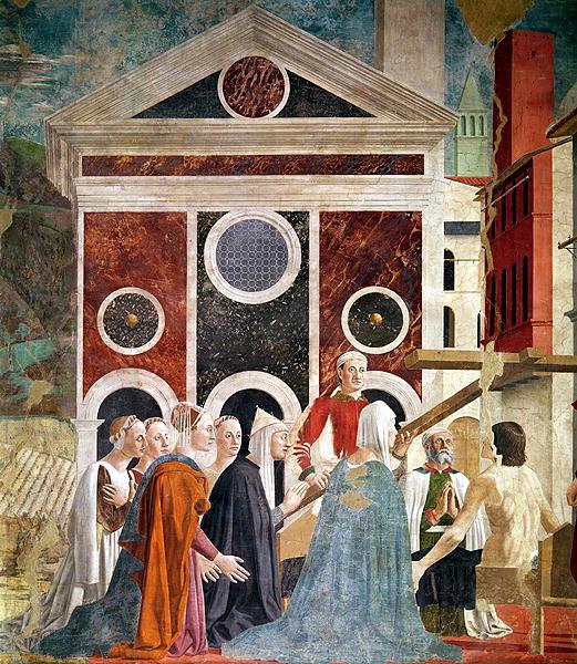 The Verification of the True Cross 1452 59   Piero della Francesca   oil painting