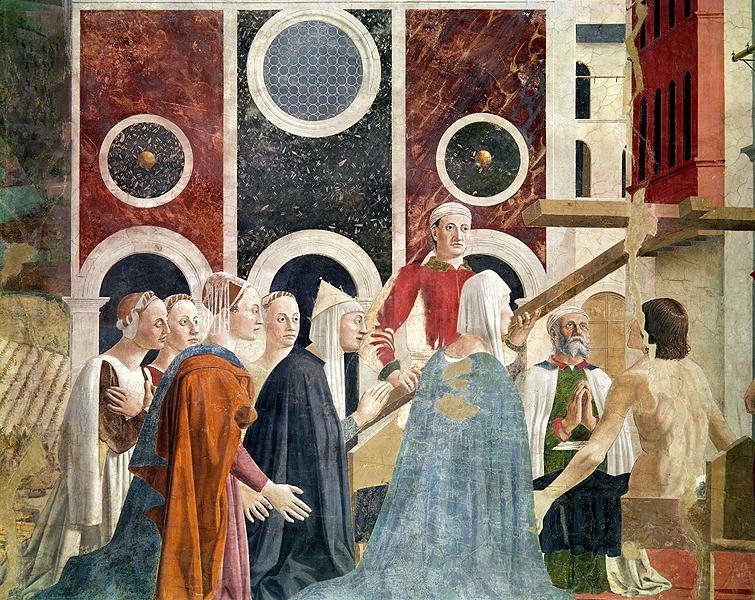 The Verification of the True Cross completed 1464 | Piero della Francesca | oil painting