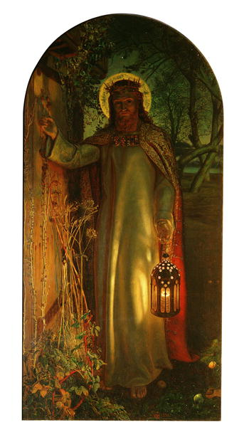 The Light of the World 1851 53 | William Holman Hunt | oil painting