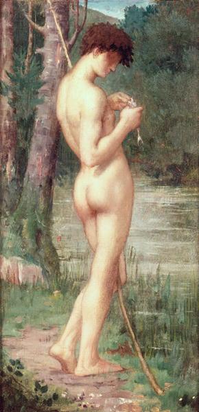 The Little Fisherman | Pierre Puvis de Chavannes | oil painting