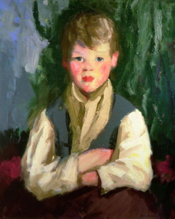 The Little Irishman 1913 | Robert Henri | oil painting
