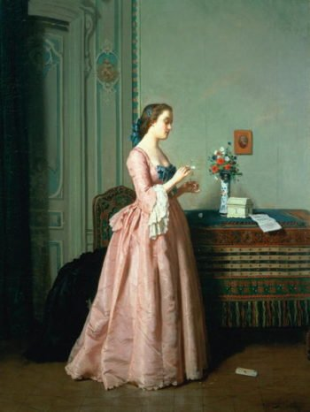The Love Letter | Jean Carolus | oil painting