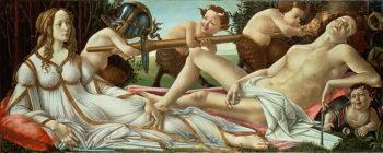 Venus and Mars 1485   Sandro Botticelli   oil painting