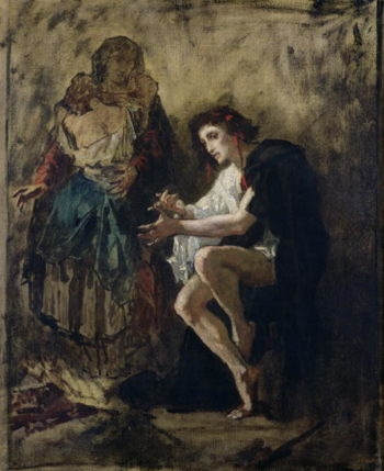 The Madman | Thomas Couture | oil painting