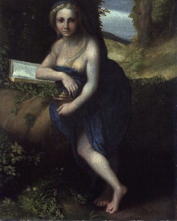 The Magdalene 1518 19 | Correggio | oil painting