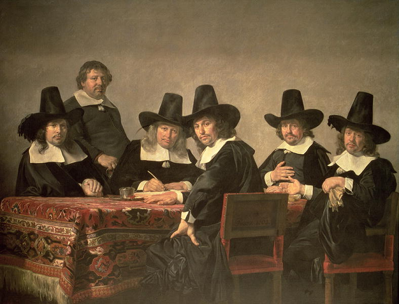 The Managers of the Haarlem Orphanage 1663 | Jan de Bray | oil painting