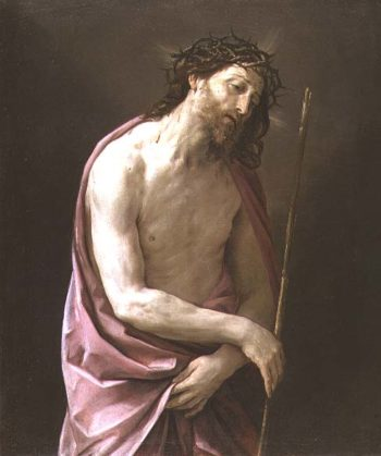The Man of Sorrows 1639 | Guido Reni | oil painting