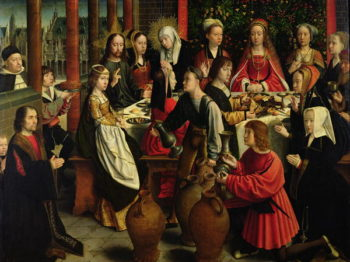 The Marriage Feast at Cana 1500 03 | Gerard David | oil painting