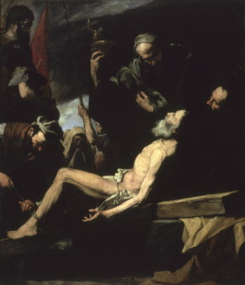 The Martyrdom of St Andrew | Jusepe de Ribera | oil painting