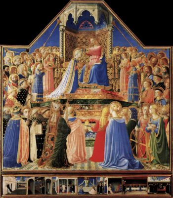 Coronation of the Virgin 1434-35 | Fra Angelico | oil painting