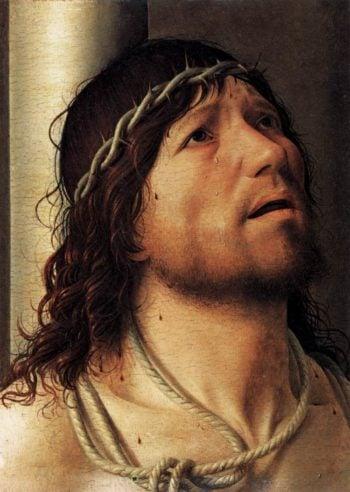 Christ at the Column 1476 | Antonello Da Messina | oil painting