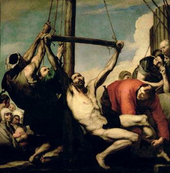 The Martyrdom of St Philip 1639 | Jusepe de Ribera | oil painting