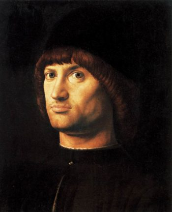 Portrait of a Man (Il Condottiere) 1475 | Antonello Da Messina | oil painting