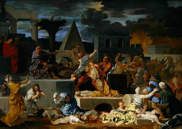The Massacre of the Innocents | Sebastien Bourdon | oil painting