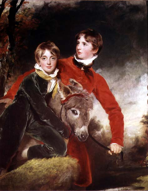 The Masters Patterson | Sir Thomas Lawrence | oil painting