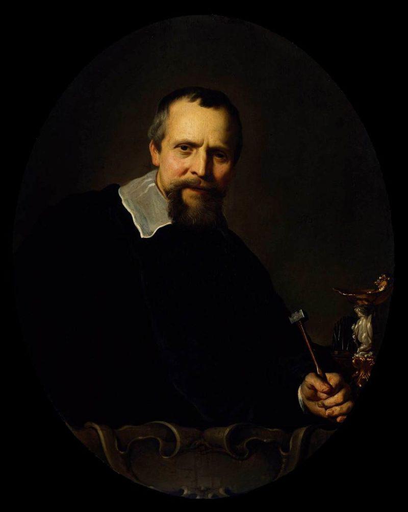 Portrait of Johannes Lutma 1639-51 | Jacob Adriaensz Backer | oil painting