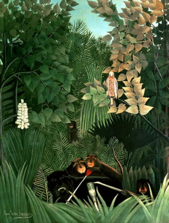 The Monkeys 1906 | Henri J F Rousseau | oil painting