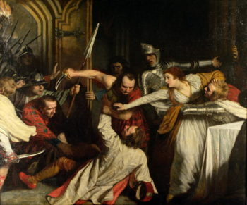 The Murder of Rizzio 1787 | John Opie | oil painting