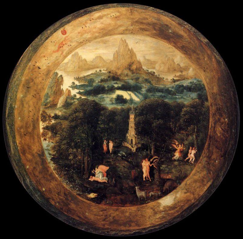 The Paradise | Herri Met De Bles | oil painting