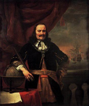 Portrait of Michiel Adriaansz de Ruyter 1667 | Ferdinand Bol | oil painting