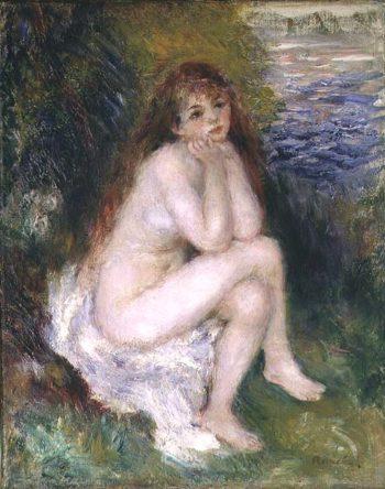 The Naiad 1876 | Pierre Auguste Renoir | oil painting