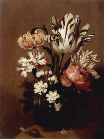 Flower Piece 1644 | Hans Bollongier | oil painting