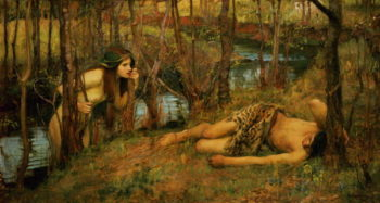 The Naiad 1893 | John William Waterhouse | oil painting