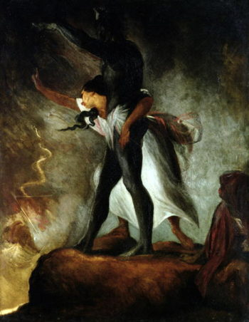 The Negro Avenged 1806 7 | Henry Fuseli | oil painting