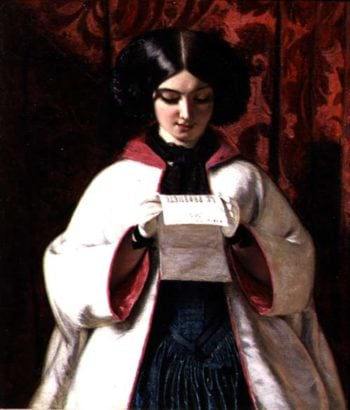 The Opera Mantle 1851 | Augustus Egg | oil painting