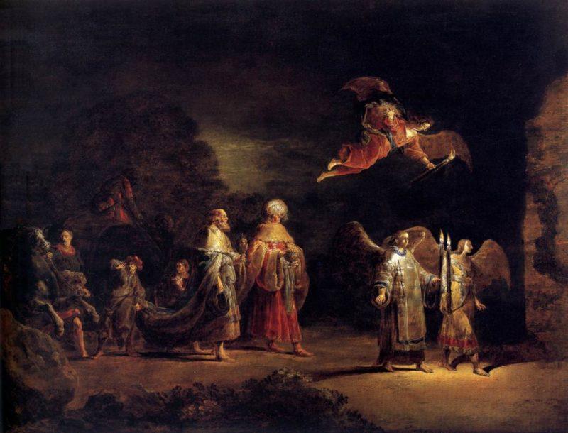 Journey of the Three Magi to Bethlehem 1638-40   Leonaert Bramer   oil painting