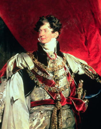 The Prince Regent later George IV | Sir Thomas Lawrence | oil painting