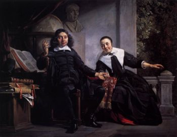 Haarlem Printer Abraham Casteleyn and His Wife Margarieta van Bancken 1663 | Jan De Bray | oil painting