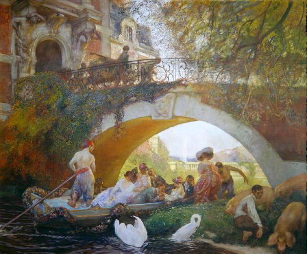 The Prodigal Son | Gaston de La Touche | oil painting