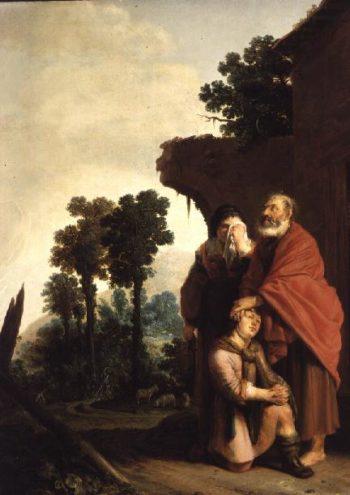 The Prodigal Son | Salomon de Bray | oil painting