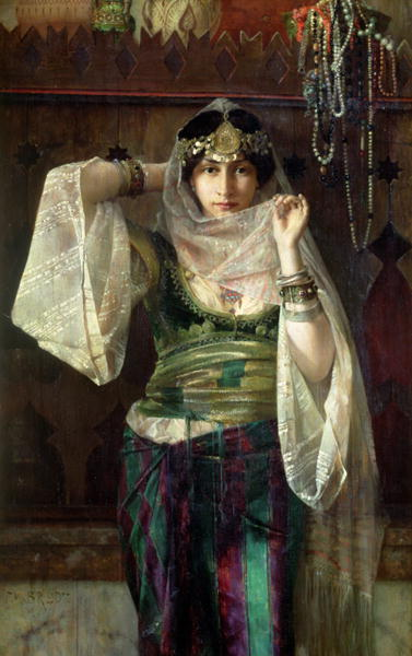 The Queen of the Harem | Max Ferdinand Bredt | oil painting