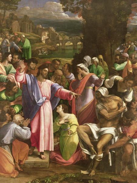 The Raising of Lazarus 1517 19 | Sebastiano del Piombo | oil painting