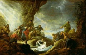 The Raising of Lazarus | Benjamin Gerritsz Cuyp | oil painting