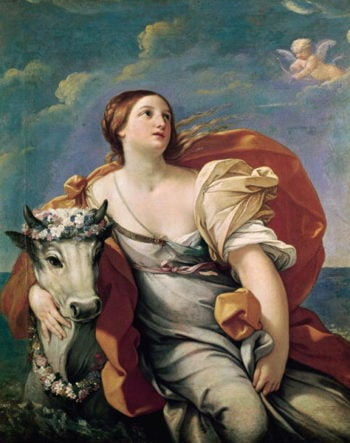The Rape of Europa | Guido Reni | oil painting