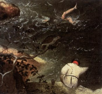 Landscape with the Fall of Icarus (detail) 1555 | Pieter The Elder Bruegel | oil painting