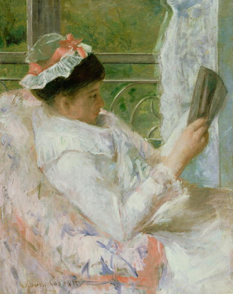 The Reader | Mary Stevenson Cassatt | oil painting