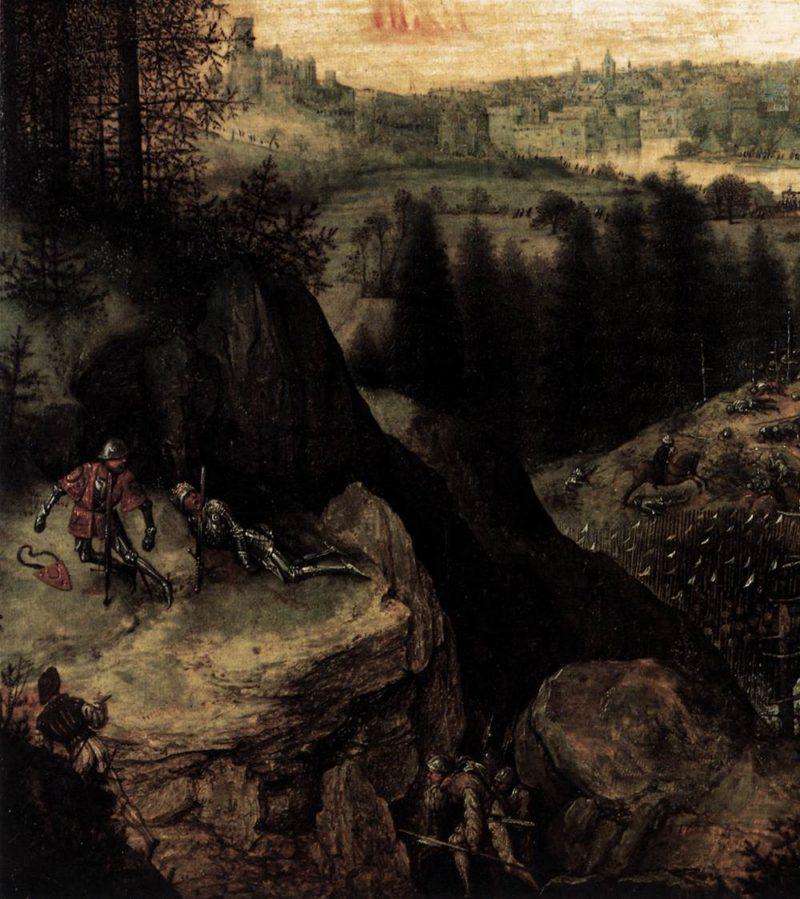 The Suicide of Saul (detail) 1562 | Pieter The Elder Bruegel | oil painting