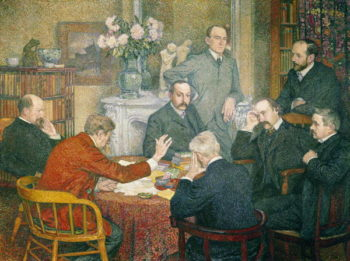 The Reading 1903 | Theo van Rysselberghe | oil painting