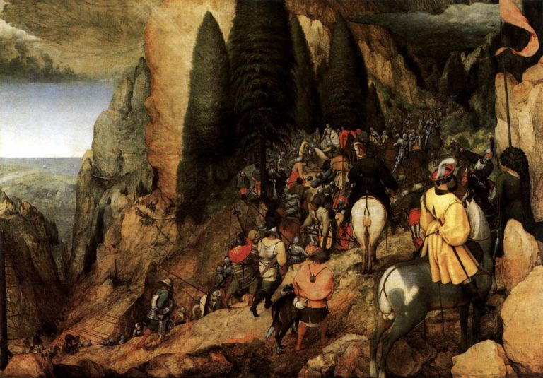 The Conversion of Saul 1567 | Pieter The Elder Bruegel | oil painting