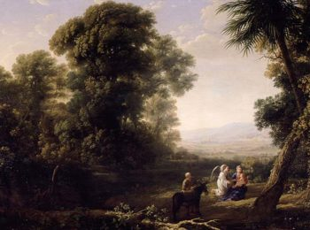 The Rest on the Flight into Egypt 1635 6 | Claude Lorrain | oil painting