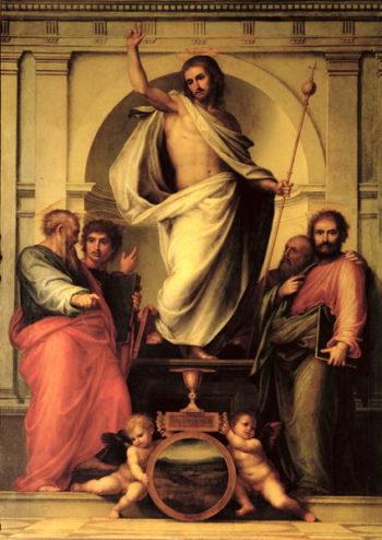 The Resurrection of Christ | Fra Bartolommeo | oil painting