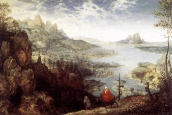 Landscape with the Flight into Egypt 1563 | Pieter The Elder Bruegel | oil painting