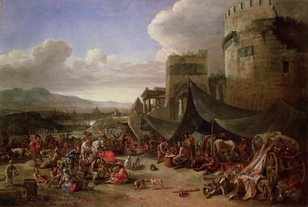 The Sack of Rome in 1527 | Johannes Lingelbach | oil painting